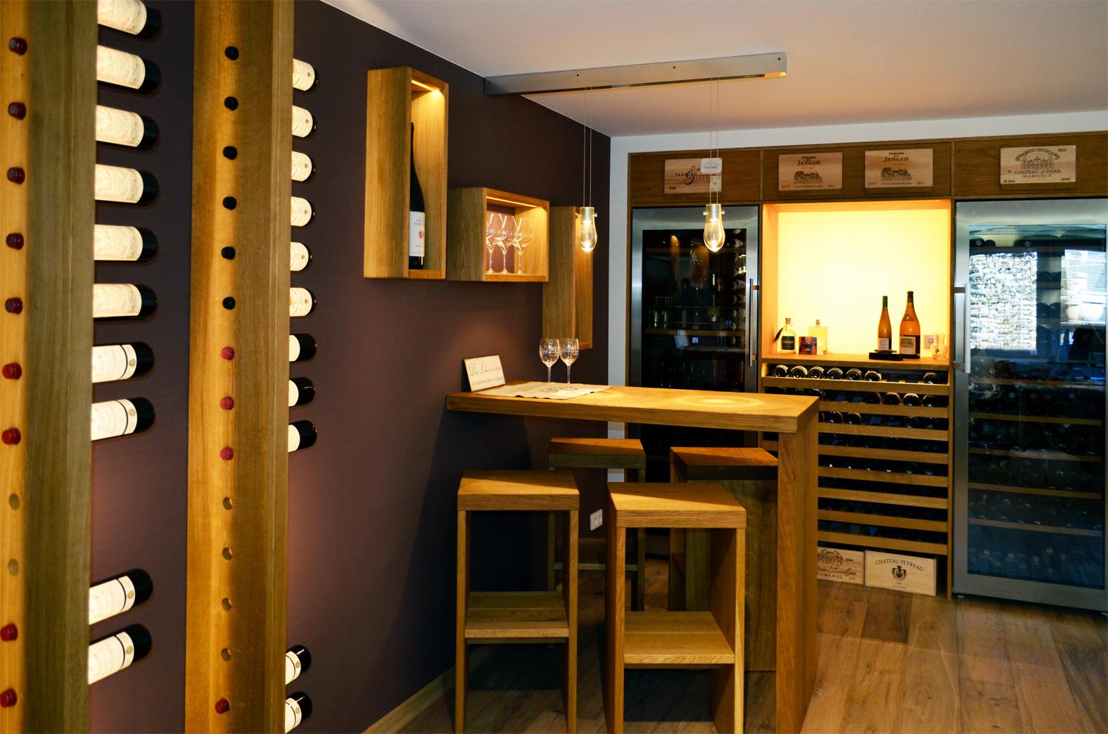 innen architektur design wein led licht 01 honeyandspice. Black Bedroom Furniture Sets. Home Design Ideas