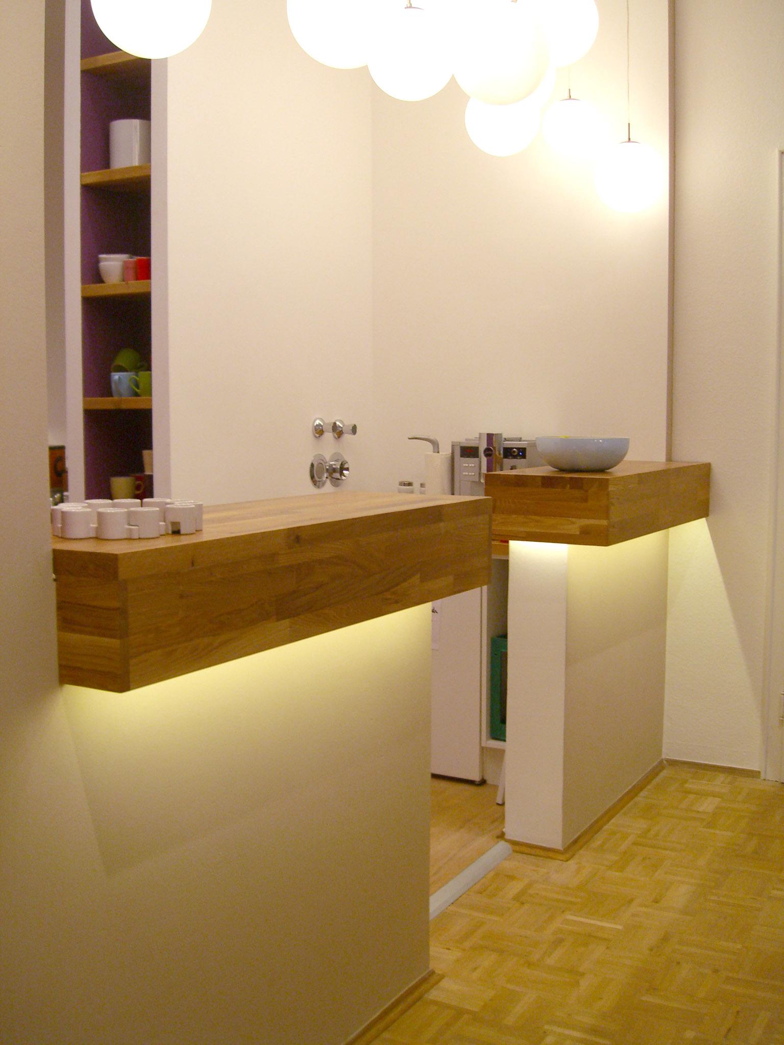 lounge und mitarbeiter k che einer werbeagentur honeyandspice. Black Bedroom Furniture Sets. Home Design Ideas