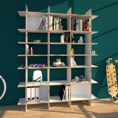 regal weiß / bücherregal, regal design weiß hloz, regal - designklassiker modern