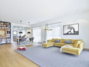 innenarchitekt penthouse licht wohnraum